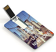 4GB Keep Calm and Live in New York Design Card USB Flash Drive