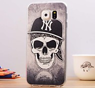 Skull Pattern TPU Soft Case for Samsung Galaxy S6