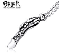 Stainless Steel  Vintage Pendant Necklace For Man