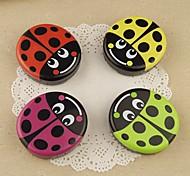 Cute Beetles Multi Color Plastic Cantact Lens Case (Random Color)