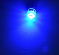Luces Decorativas T10 1.5W 1 LED de Alta Potencia 90lm LM Blanco Fresco / Azul DC 12 V
