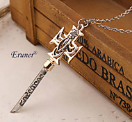 Eruner®The Da Vinci Code Necklace Vintage The Key of the Bank Necklace Pendant Jewelry