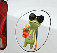 Car Stickers with Frog QW-21 Car Styling