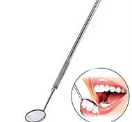 aço inoxidável 1pc instrumentos dentários espelho de boca kit explorador alicate