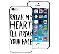Break Your Face Design PC Hard Case for iPhone 4/4S