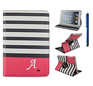 9.7 Inch 360 Degree Rotation Wave Pattern with Stand Case and Pen for iPad Air /iPad 5