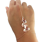 HUALUO®Metal Orchids Mittens Bracelet
