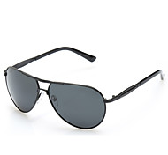 100% UV400 Men's Aviator Driving Sunglasses