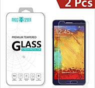 Magic Spider®0.2mm 2.5D Private Brand Damage Protection Tempered Glass Screen Protector for Samsung Galaxy Note 3 (2PCS)