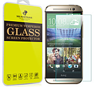 Mr.northjoe® Tempered Glass Film Screen Protector for HTC One M8