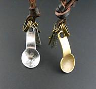 Fashion Spoon Pendant Necklace