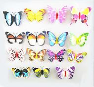 imanes de nevera, lechón imán con mariposas, mariposa colorida alta simulación