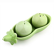 Two Peas Salt Pepper Shakers Fashion Wedding Gifts 12*5.5*4 cm