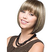 Capless Synthetic Mixed Color Short Bob Hair Wig