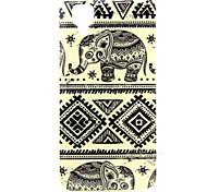 Elephant  Pattern TPU Soft Case for WIKO GOA