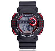 mannen sport horloge quartz digitale led (aassorted kleuren)