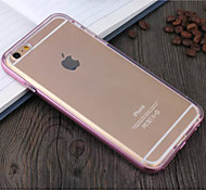 ENKAY 2 in 1 Metal Style Frame Bumper with Soft TPU Case for iPhone 6