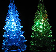 Multicolor Romantic Christmas Tree Pattern Night Light