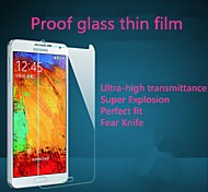 hohe Transparenz hd hd fest gehärtetem Glas LCD Screen Protector für Samsung-Anmerkung 3