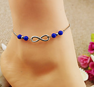 mode bracelets de cheville yakeli bleu