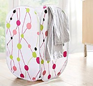 Fashion and Fresh Printing Receive Clothes Dirty Clothes Basket of Laundry Basket (Random Color)