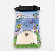 Universal 6 Inch Cartoon PVC Waterproof Phone Case 10 Meters Underwater Phone Bag Pouch Dry No.005 (All Models)