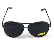 Sunglasses Men's Classic / Retro/Vintage / Polarized Oversized Black Sunglasses