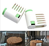 2Pcs DIY Tools 5 Layers Kitchen Cake Bread Cutter Leveler Slicer Cutting Fixator