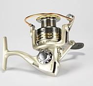 Mulinelli da pesca Mulinelli per spinning 1000: 5.1:1, 2000/3000: 5.0:1, 4000/5000:4.7:1 9 Cuscinetti a sfera IntercambiabileSpinning /