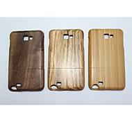 vero bambù copertura posteriore di legno naturale moda custodie protettive per Samsung Galaxy i9220 colori assortiti