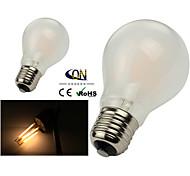 Lampade LED a incandescenza 8 COB ONDENN A E26/E27 8 W Intensità regolabile 800 LM Bianco caldo 2 pezzi AC 220-240/AC 110-130 V