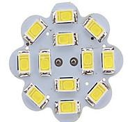 G4 Luces LED de Doble Pin 12LED SMD 5730 300-450 lm Blanco Cálido / Blanco Fresco AC 12 V 1 pieza