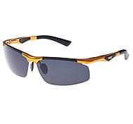 Anti-Reflective Alloy Wrap Fashion Sunglasses