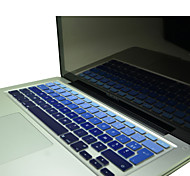 "Coosbo® French AZERTY Colorful Silicone Keyboard Cover Skin for 11.6""/13.3""/15.4""/17"" Mac Macbook Air Pro / Retina"