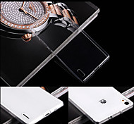 Transparent Back Case Cover for Huawei P7