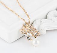 ShanZuan butterfly pearl necklace