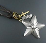 Fashion Star Pendant Necklace