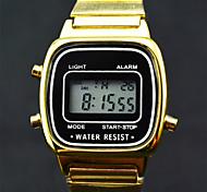 marque horlogère de luxe concepteur des femmes mené entièrement en acier poignet or numérique montre étanche fonctionnels (couleurs