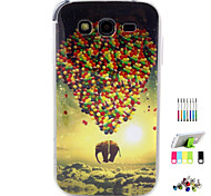 Für Muster Hülle Rückseitenabdeckung Hülle Ballon Hart TPU Samsung Grand Neo