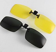 Polarized Rectangle Clip-on Sunglasses Lenses