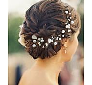 Свадьба / Для вечеринок - Шпильки для волос (Жемчуг)
