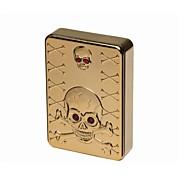 Upscale Fine Golden Skull Style USB Charging Lighter