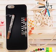 3d рельефные буквы курить шаблон материала ПК с пером Anti-Dust Разъем и стоять портфель для Iphone 6