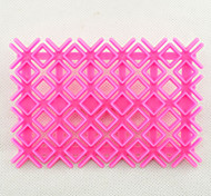 Fondant Square Cutter Lattice Cake Cupcake Decorating Tool Quilt Embosser