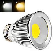1 pcs  E27 6W 1LED  COB 450-800 LM 2800-3500/6000-6500 K Warm White/Cool White Globe Bulbs AC 85-265 V