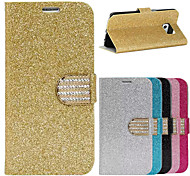 BIG D Flash Diamond Full Body Flip Case for Samsung Galaxy S6 G9200(Assorted Colors)