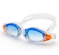 winmax® Erwachsenen einstellbar Schwimmbrillen Silikon-Rahmen blau / pink 100% Anti-UV und Anti-Fog