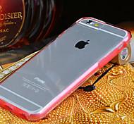 caso de dos piezas estilo transparente para iPhone 6s más / 6 más