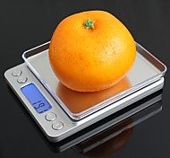 "I-2000 1.7"" LED Digital Kitchen Desktop Scale(2 x AAA / 2000g / 0.1g)"