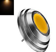 Focos LED dingyao G4 3W 1LED COB 300-450 LM Blanco Cálido / Blanco Fresco DC 12 V 1 pieza